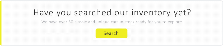 search our classic cars stock